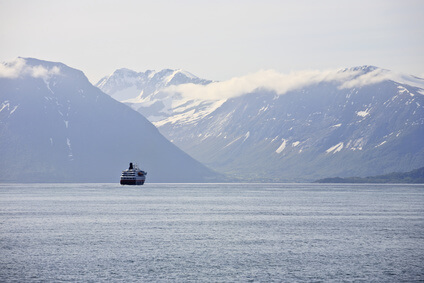 Hurtigruten Schiffspositionen