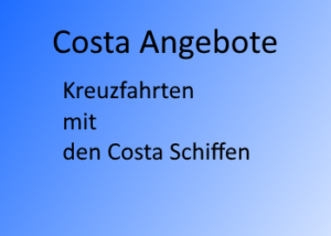 Costa angebote